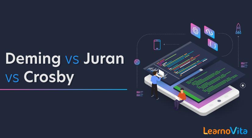 Deming vs Juran vs Crosby