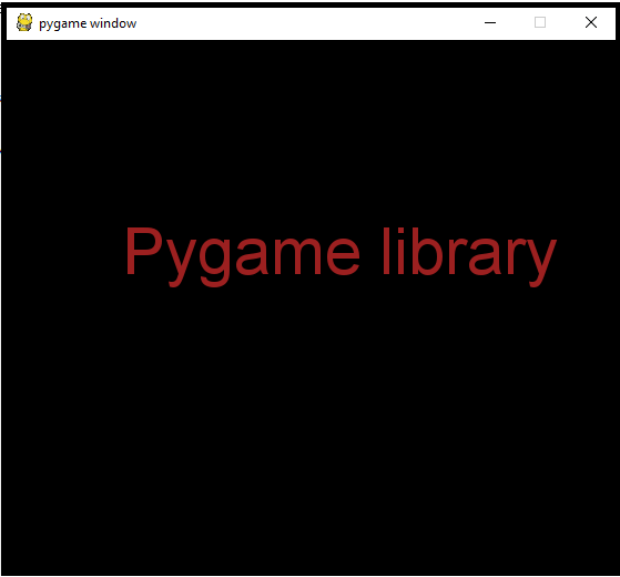 Pygame-lib