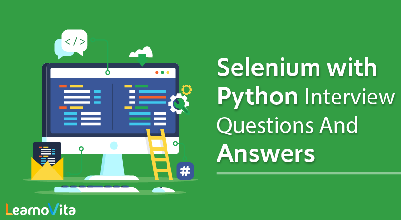 Selenium with Python Interview Questions and Answers