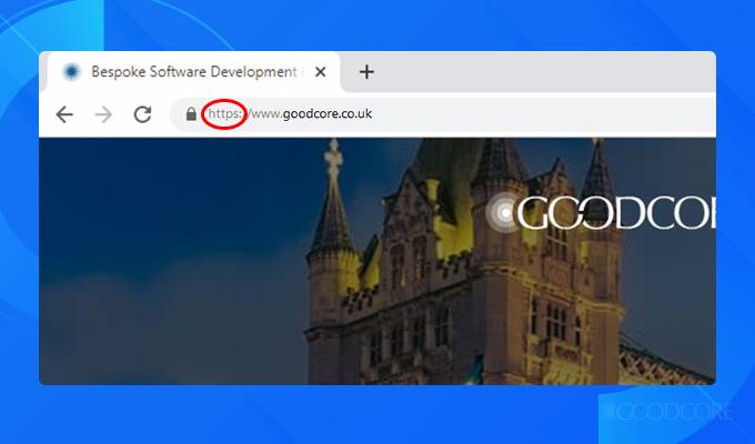 a-screenshot-of-goodcore's-web-address