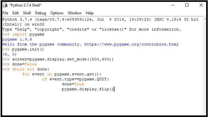 code-of-blank-screen