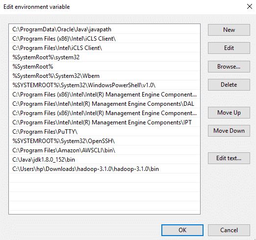 Hadoop-Java-Environment