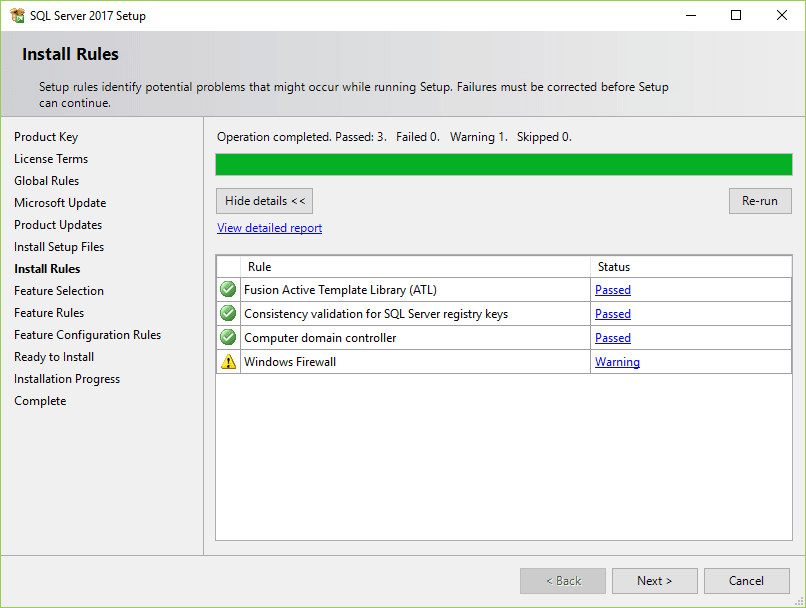 install rules-sql