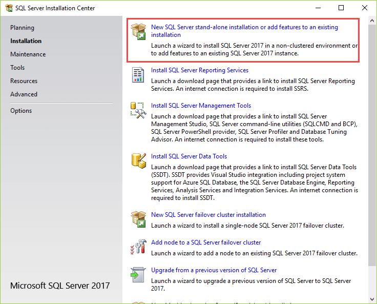 install-sql-server
