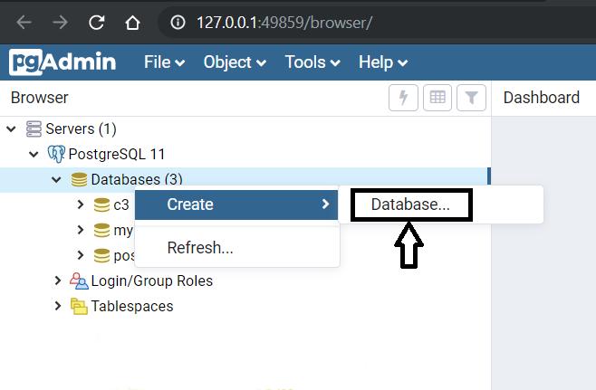 PostgreSQL-Create-Database