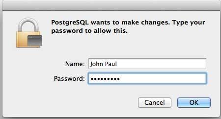 Postgresql-Password